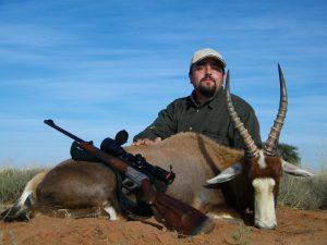 Blesbok cazado por Sr Campillo en Sudáfrica