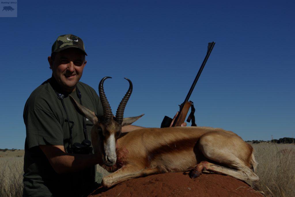 Sr Corujo con un Springbok Copper